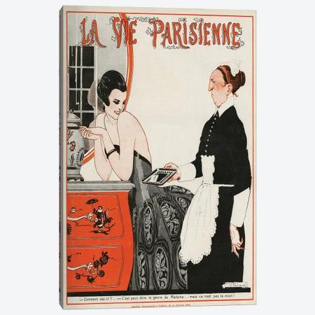 1922 La Vie Parisienne Magazine Cover 3-Piece Canvas #REV2} by Rene Vincent Art Print