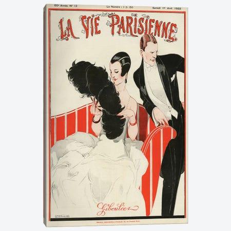 1922 La Vie Parisienne Magazine Cover Canvas Print #REV3} by Rene Vincent Canvas Print