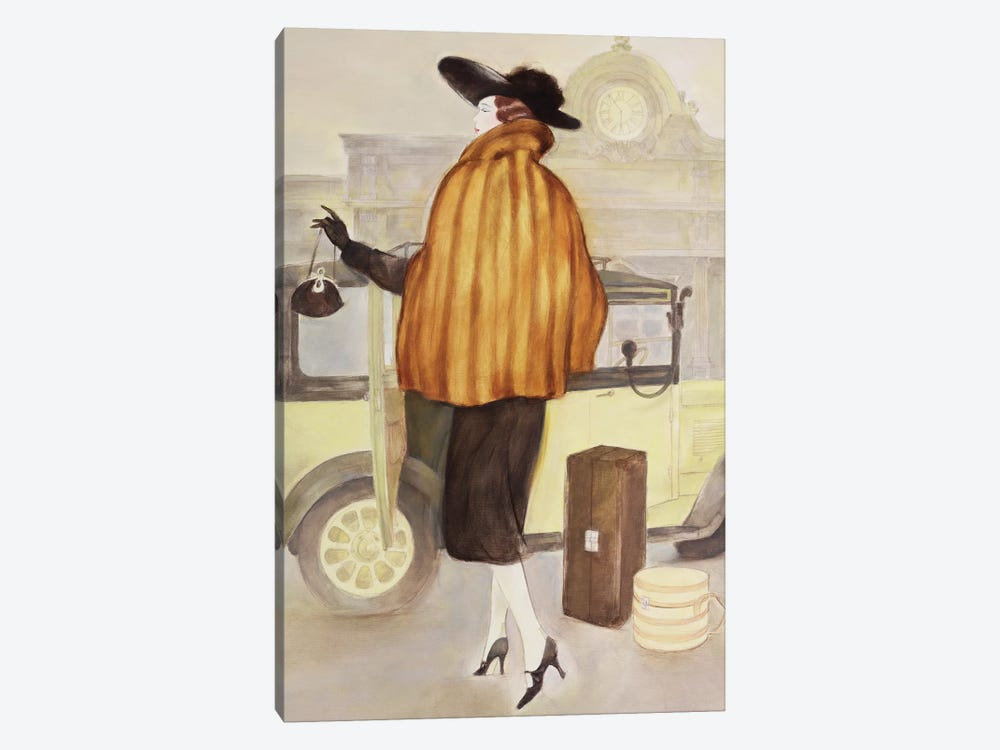 Vintage Lady IV by Graham Reynolds 1-piece Art Print