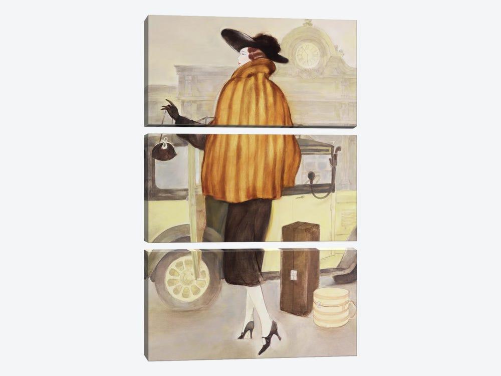 Vintage Lady IV by Graham Reynolds 3-piece Art Print
