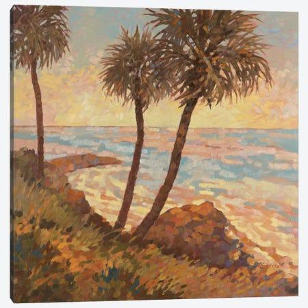Palm Breeze I Canvas Print #REY11} by Graham Reynolds Canvas Art Print