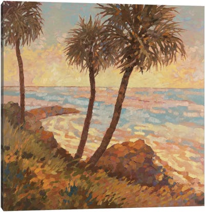 Palm Breeze I Canvas Art Print