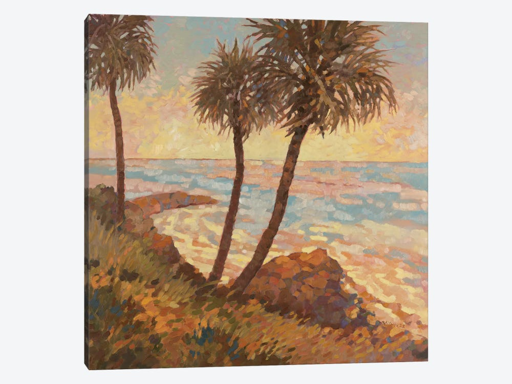 Palm Breeze I by Graham Reynolds 1-piece Canvas Art