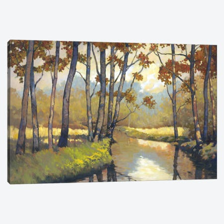 Trout Stream I Canvas Print #REY16} by Graham Reynolds Canvas Artwork