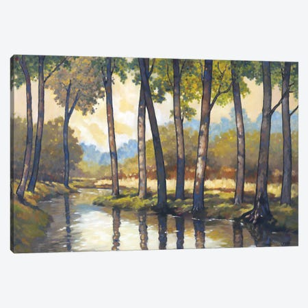 Trout Stream II Canvas Print #REY17} by Graham Reynolds Canvas Art
