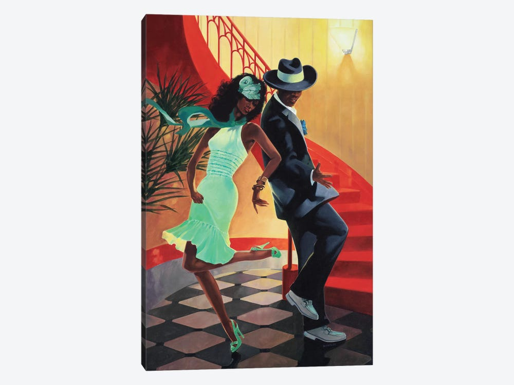 Night Out IV by Graham Reynolds 1-piece Canvas Wall Art