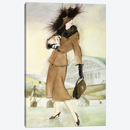 Vintage Lady I Canvas Print #REY7} by Graham Reynolds Canvas Print