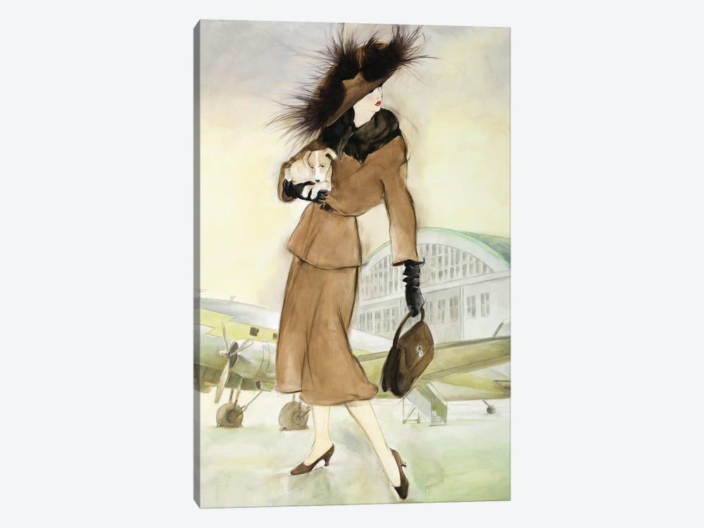 Vintage Lady I by Graham Reynolds 1-piece Art Print