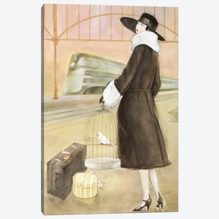 Vintage Lady II Canvas Print #REY8} by Graham Reynolds Canvas Art