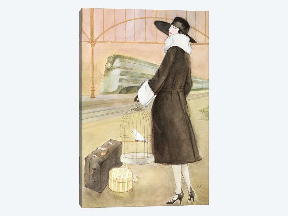 Vintage Lady II by Graham Reynolds 1-piece Canvas Wall Art