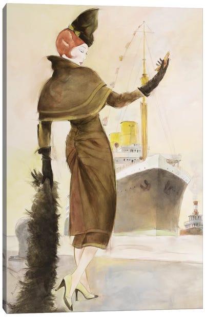 Vintage Lady III Canvas Art Print