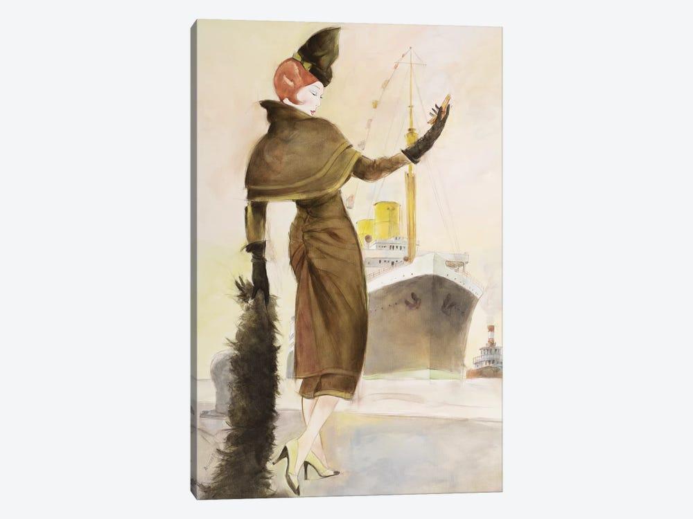 Vintage Lady III by Graham Reynolds 1-piece Canvas Print
