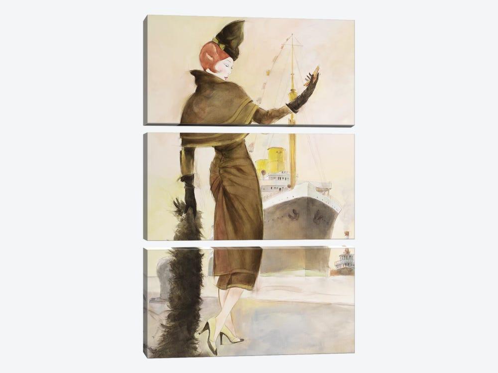 Vintage Lady III by Graham Reynolds 3-piece Art Print