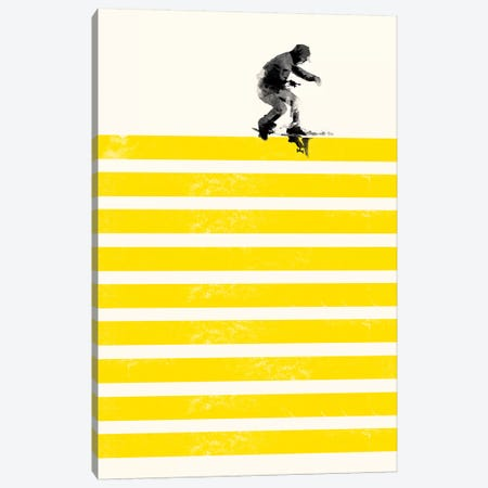 Slide In Stripes Canvas Print #RFA10} by Robert Farkas Art Print