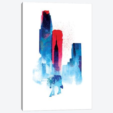 The Wolf Of The City Canvas Print #RFA11} by Robert Farkas Canvas Art Print