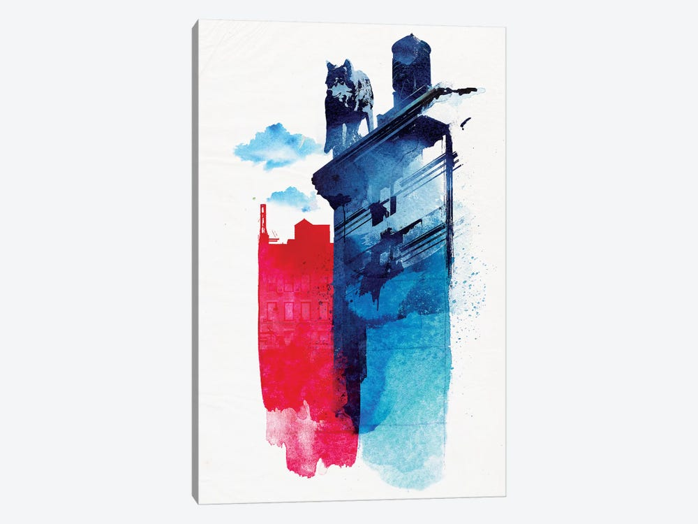 This Is My Town by Robert Farkas 1-piece Art Print
