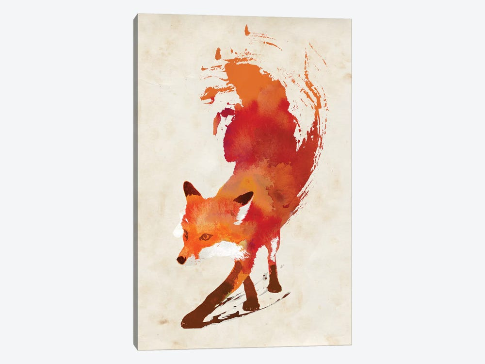 Vulpes Vulpes by Robert Farkas 1-piece Canvas Art