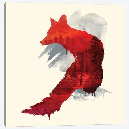 Bad Memories Canvas Print #RFA19} by Robert Farkas Art Print