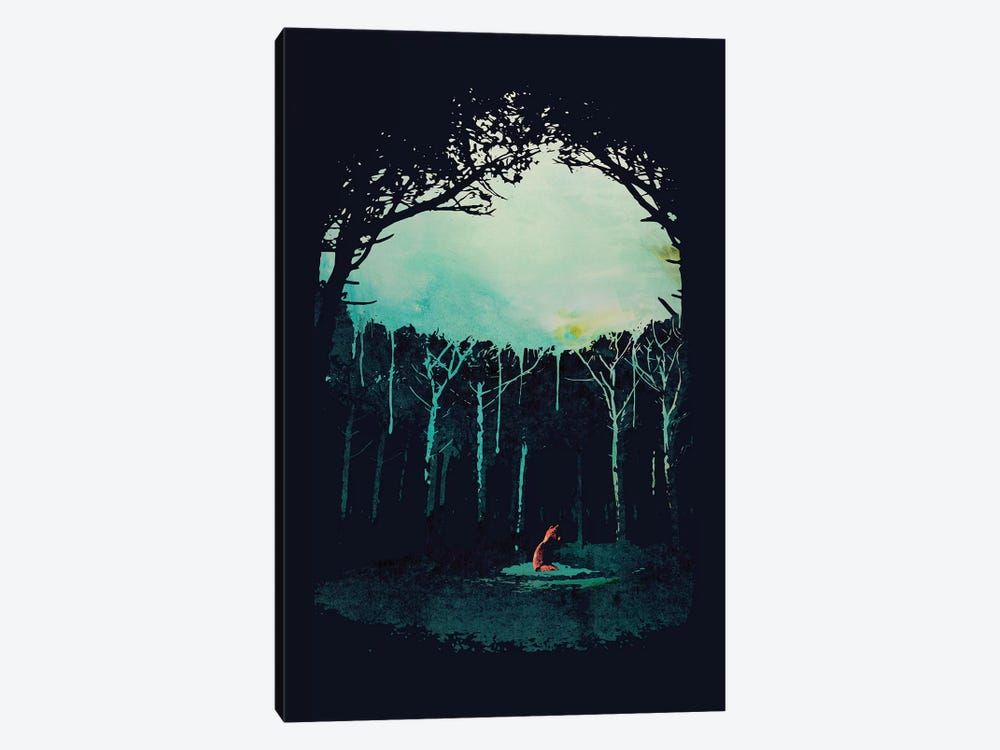 Deep In The Forest by Robert Farkas 1-piece Art Print