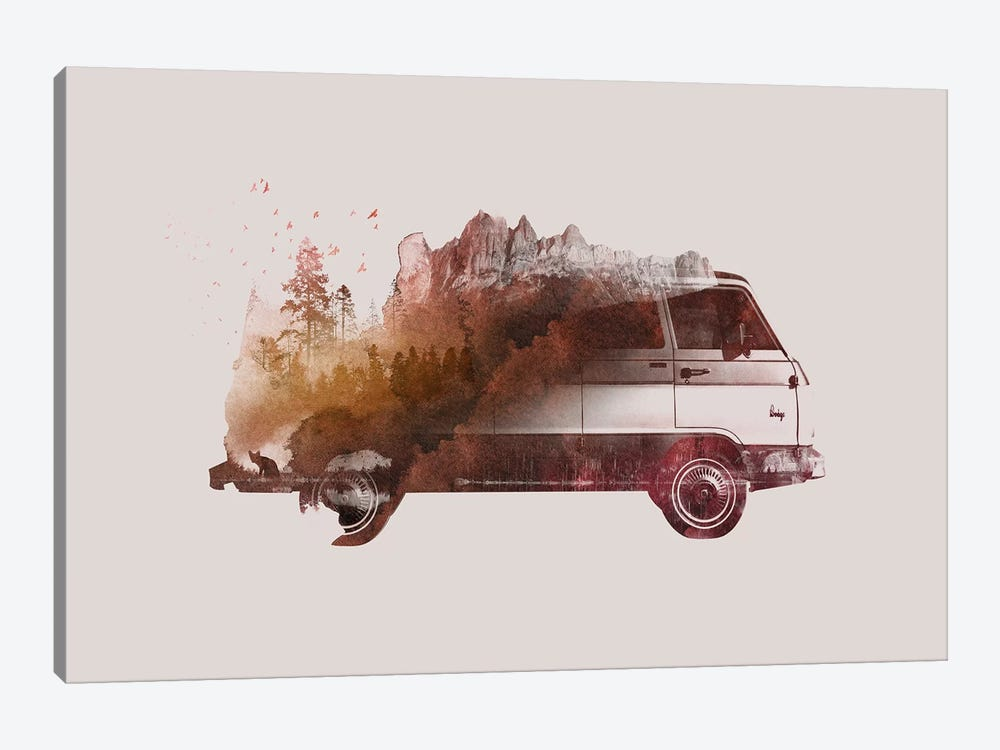 Drive Me Back Home I by Robert Farkas 1-piece Canvas Wall Art