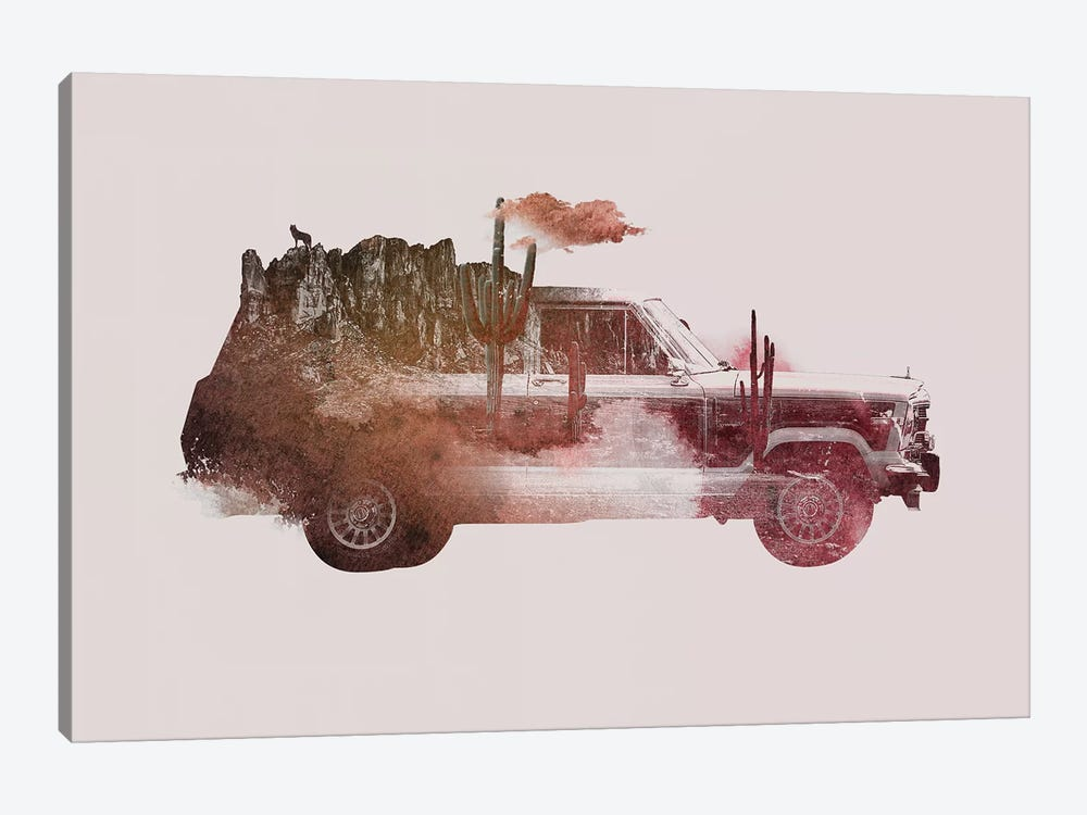 Drive Me Back Home II 1-piece Art Print