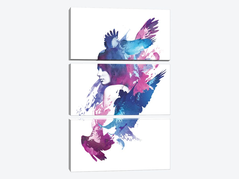 Bloody Fight by Robert Farkas 3-piece Canvas Artwork