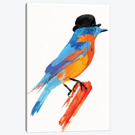 Lord Bird Canvas Print #RFA32} by Robert Farkas Canvas Print