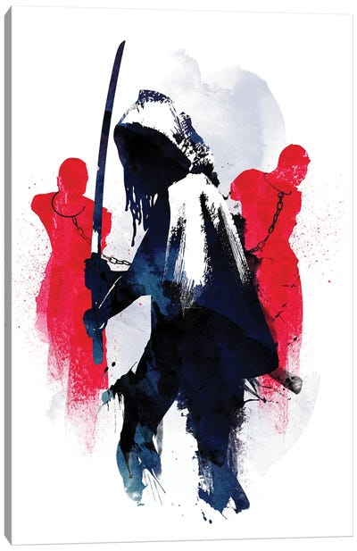 Michonne Canvas Art Print