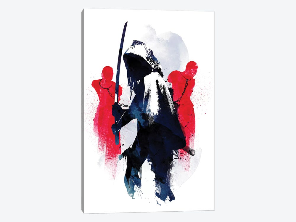 Michonne by Robert Farkas 1-piece Canvas Wall Art