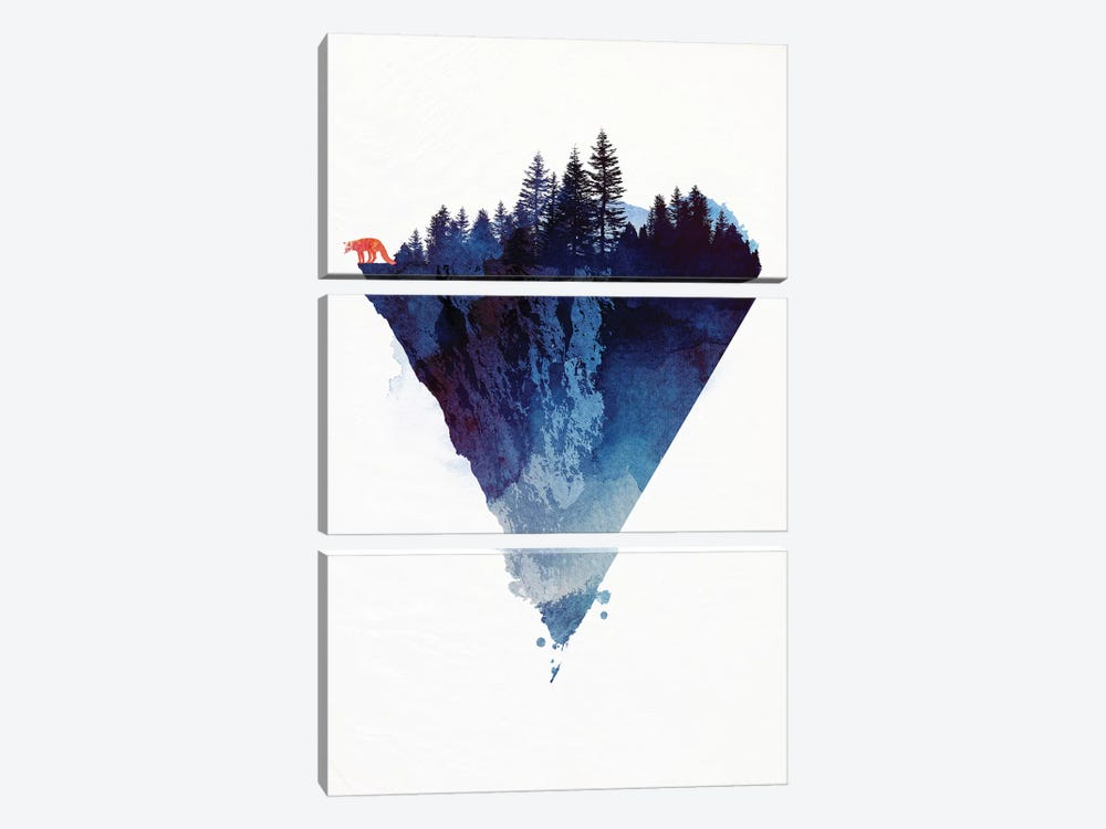 Near To The Edge by Robert Farkas 3-piece Canvas Artwork