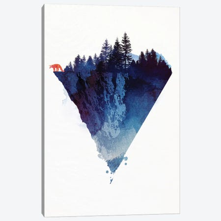 Near To The Edge Canvas Print #RFA35} by Robert Farkas Canvas Wall Art