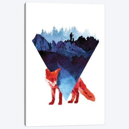 Risky Road Canvas Print #RFA37} by Robert Farkas Canvas Artwork