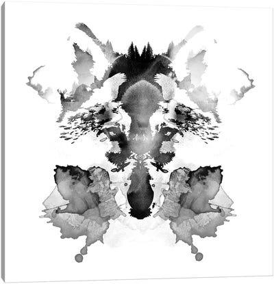 Rorschach Canvas Art Print