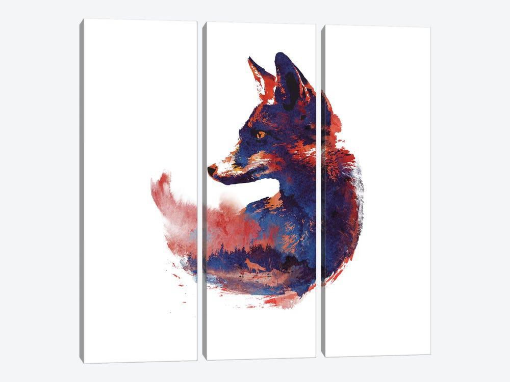 The Future Is Bright by Robert Farkas 3-piece Canvas Artwork