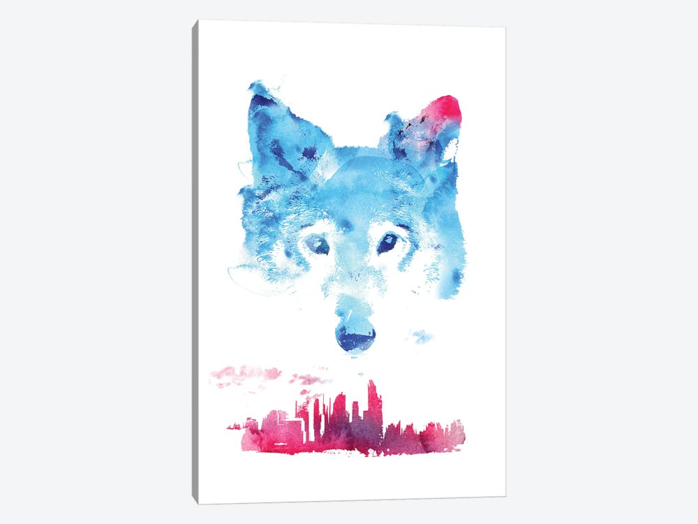 The Guardian by Robert Farkas 1-piece Canvas Artwork