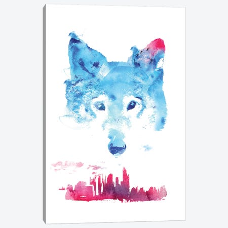 The Guardian Canvas Print #RFA46} by Robert Farkas Canvas Print