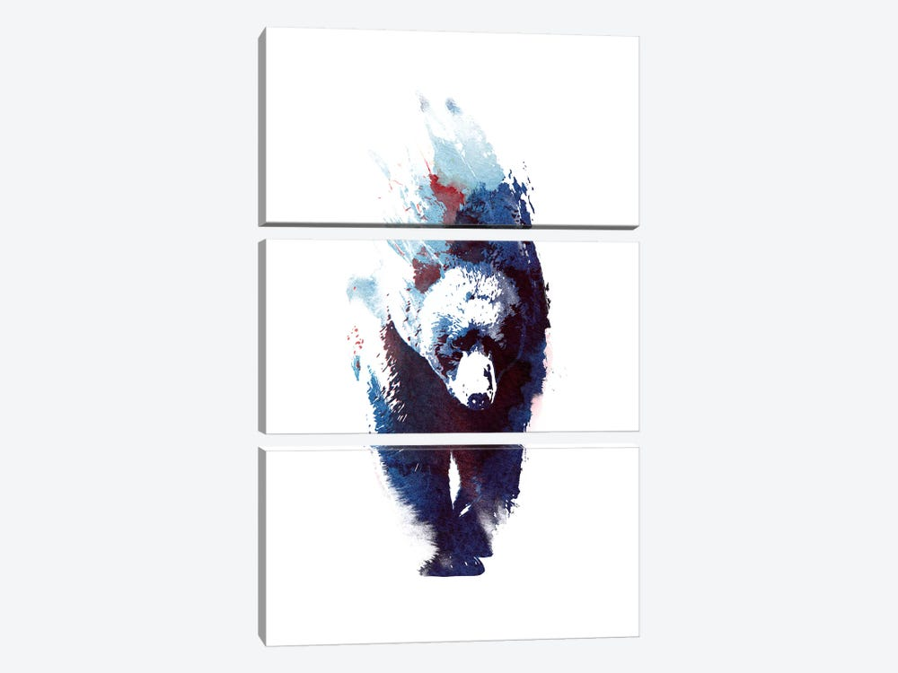Death Run by Robert Farkas 3-piece Canvas Wall Art