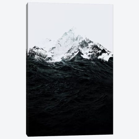 Those Waves Were Like Mountains Canvas Print #RFA51} by Robert Farkas Art Print