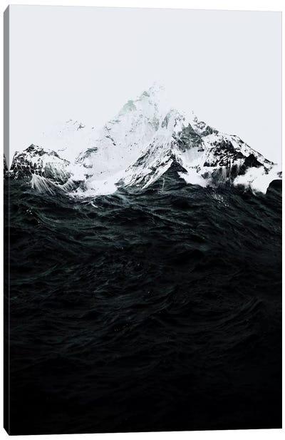Those Waves Were Like Mountains Canvas Art Print