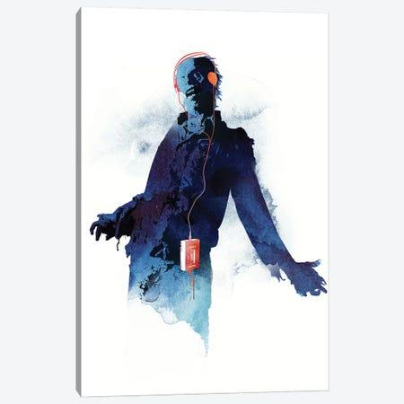 Walkman Dead Canvas Print #RFA54} by Robert Farkas Canvas Art