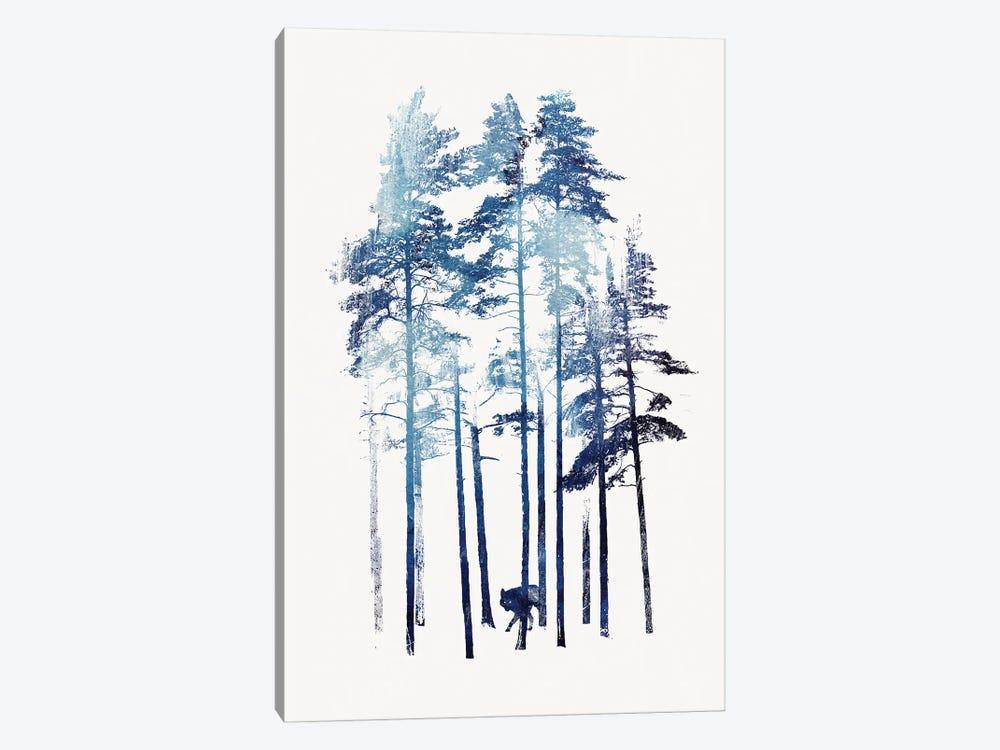 Winter Wolf by Robert Farkas 1-piece Art Print