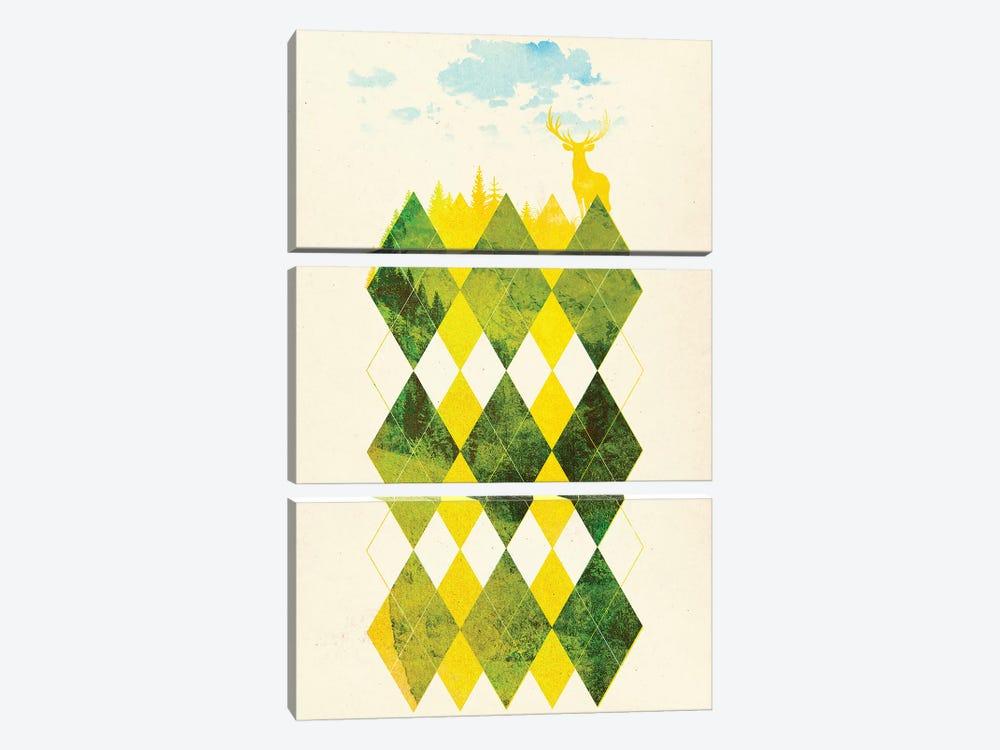 Elegant Forest by Robert Farkas 3-piece Art Print