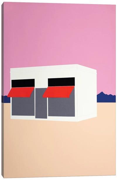 Sunset Boutique Canvas Art Print