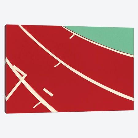 Tartan Track Canvas Print #RFE105} by Rosi Feist Canvas Art Print