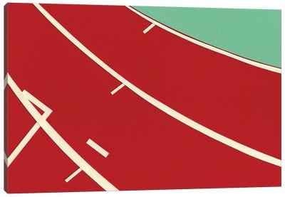 Tartan Track Canvas Art Print