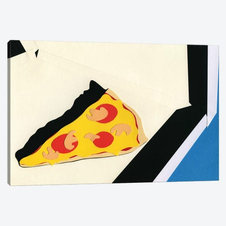 The Last Slice 3-Piece Canvas #RFE107} by Rosi Feist Art Print
