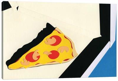 The Last Slice Canvas Art Print