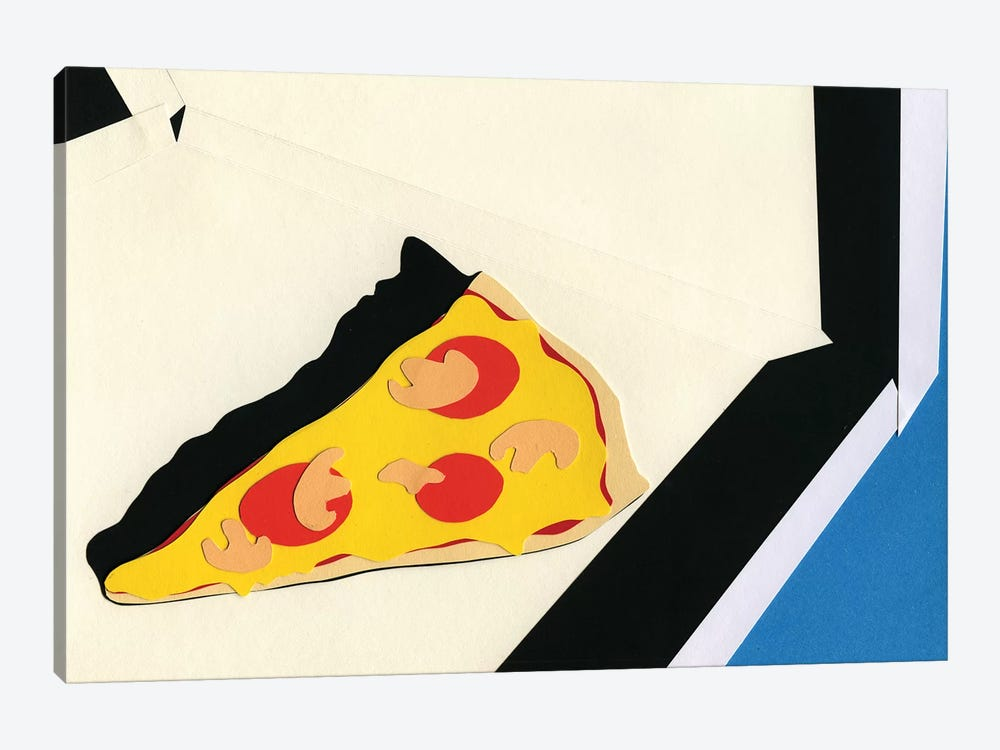 The Last Slice by Rosi Feist 1-piece Canvas Art Print