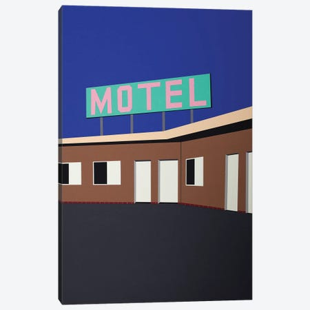 The Love Motel Canvas Print #RFE108} by Rosi Feist Canvas Artwork
