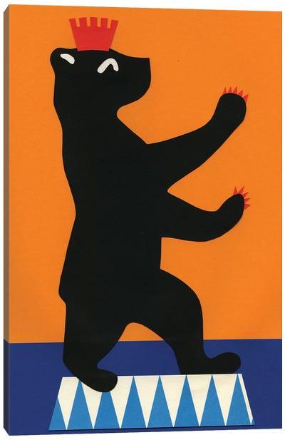 Berlin Bear Canvas Art Print